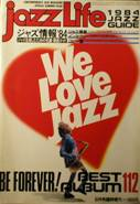 jazz Life臨時増刊:1984JAZZ GUIDE写真