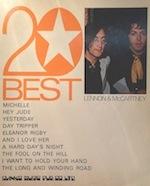 20BEST:LENNON & McCARTNEY写真