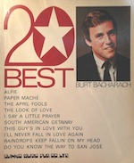20BEST:BURT BACHARACH写真