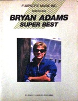 BRYAN ADAMS SUPER BEST:Complete Score Series写真